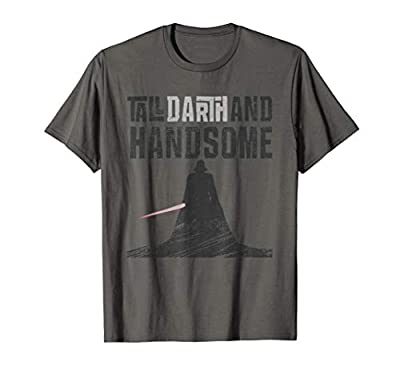 Star Wars Tall Darth and Handsome Funny Men's T-Shirt