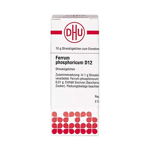 DHU Ferrum phosphoricum D12 Streukügelchen, 10 g Globuli