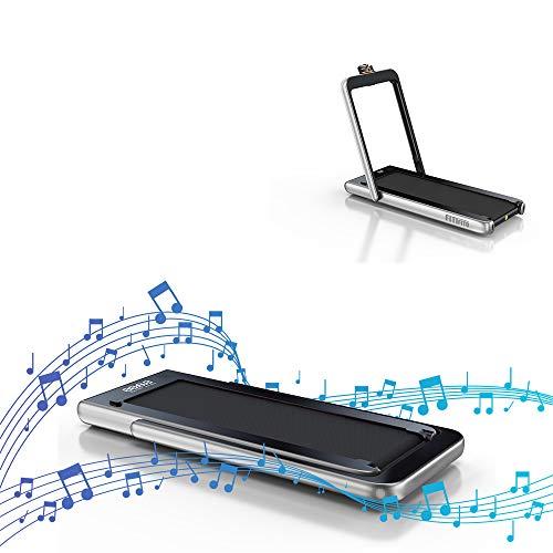 Fitifito ST100 Edles Laufband Profilaufband 1.0-12 km/h Bluetooth...
