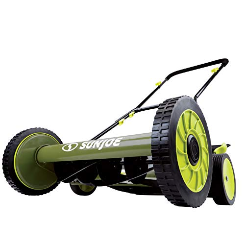 "Snow Joe MJ501M 18"" Manual Reel Mower with Catcher"