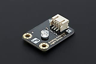 In ZIYUN,Gravity: Analog Ambient Light Sensor For Arduino,this sensor can work at 3.3V which make it compatible with Raspberry Pi, intel edison, joule and curie