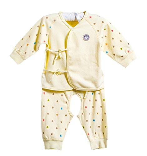 DQQ DQQ Baby Jungen (0-24 Monate) Schlafanzugoberteil Gr. S, Beige