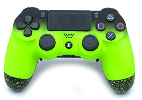 Green PlayStation 4 Pro Controller with Remapping Paddles – PS4 Pro Slim DualShock 4 PlayStation 4 Wireless Controller