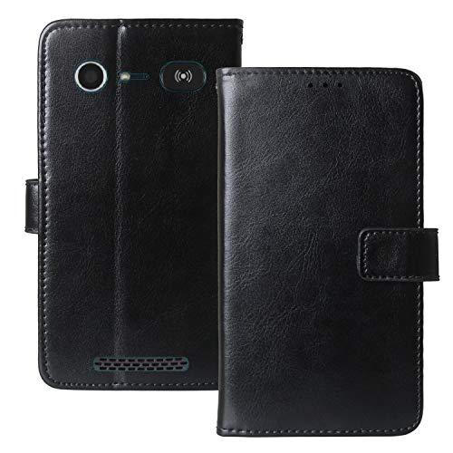 Dingshengk Flip Retro Leder Tasche Hülle TPU Silikon Für Doro Liberto 8040 8042 5