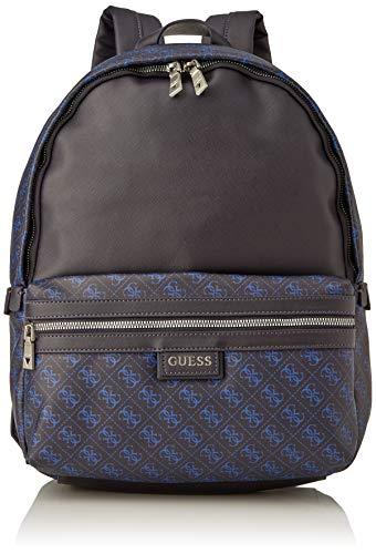 Guess Dan Logo Backpack, Hombre, azul, Talla única