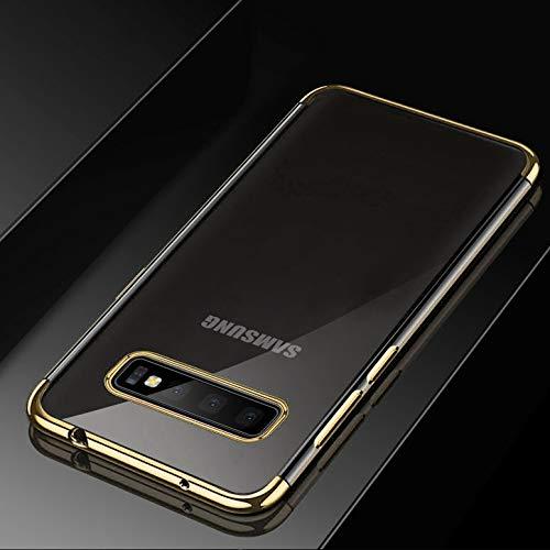 RZL Teléfono móvil Fundas Casos para Samsung Galaxy S10 S10e 5G S8 S9 Plus S7 Borde Nota 8 9 A6 A8 A7 2018 J4 J6 J8 J2 NÚCLEO Chapado de TPU Cubierta de Silicona Suave