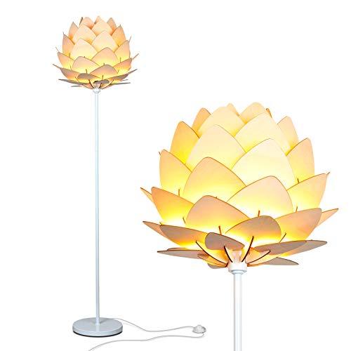 Brightech Artichoke Floor Lamp - Unique Modern Bohemian (Boho) Standing Light for Trendy Vintage...