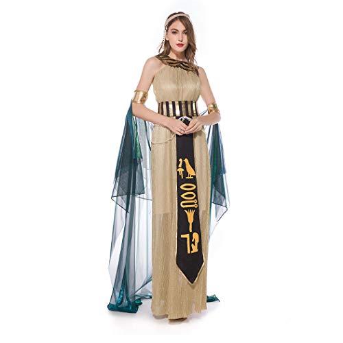 Finerun - Disfraz de Cleopatra para mujer