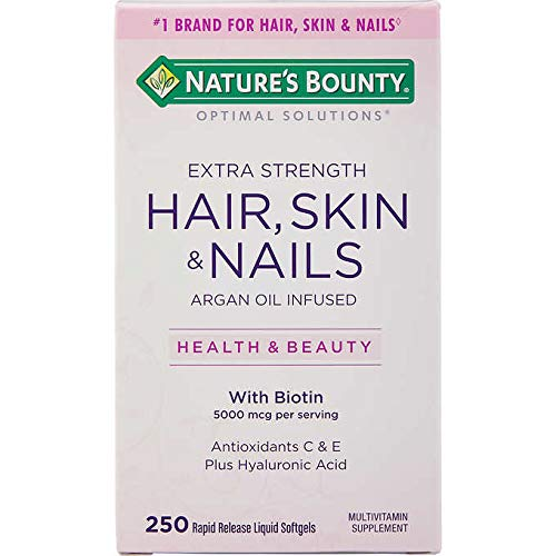 HAIR, SKIN & NAILS, NATURES CABELO PELE E UNHA - 250 SOFT