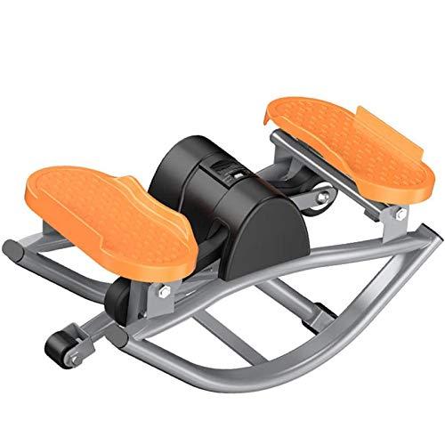 LOVEHOUGE Mini Stepper Swing, máquina de coser para el hogar, con pantalla LCD, equipo de fitness para la oficina en casa, 49 x 27 x 23 cm