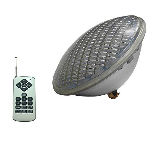 LED Par56 Birne Lampe 36 watt 12 v AC PAR 56 Lampe LED Schwimmen Pool Beleuchtung RGB IP68 LED Unterwasser Licht Teich Lichter (rgb - mit fernbedienung)