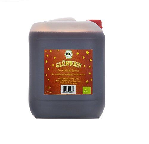 Roter Glühwein Bio 10 Liter Kanister 9% vol.