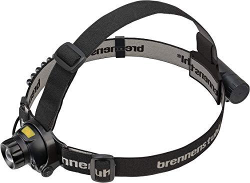 Brennenstuhl LuxPremium LED Akku Sensor Kopflampe SL 400 AF / Wiederaufladbare Stirnlampe mit Sensor (Stirnlampe USB mit Rotlicht für außen IP44, 400lm, bis zu 50h Leuchtdauer)