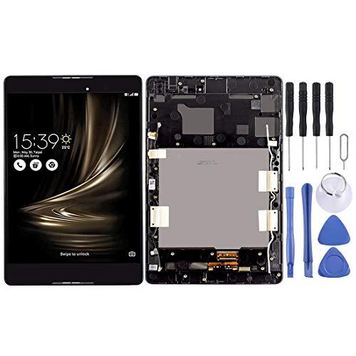 un known Pantalla LCD y digitalizador con marco para Asus Zenpad 3 8.0 Z8 Z581KL Z581 ZT581KL P008 (negro) mantenimiento de accesorios (color negro).