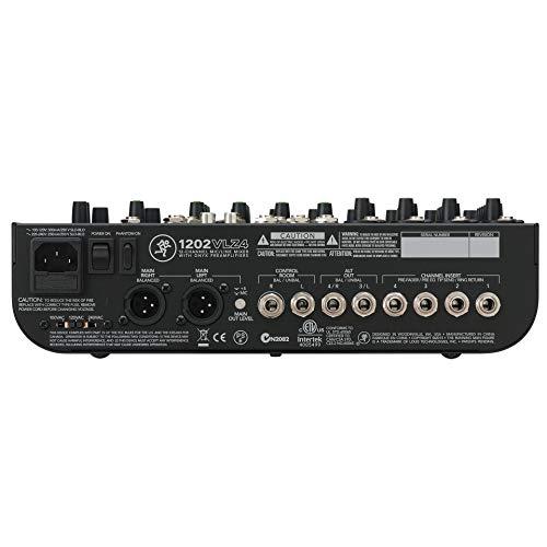 Mackie 1202VLZ4 12channels 20 - 20000Hz - Audio-Mixer (12 Kanäle, 20 - 20000 Hz, 90 dB, 10000 Ohm, 2500 Ohm, 25 W)