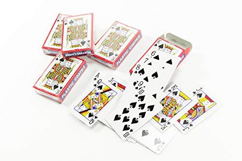 Benson 5 x 54 Blatt Spielkarten Kartenspiel Karten Spiel Poker Romme Joker