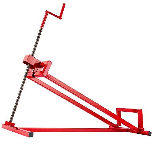 Rasentraktorheber | 400 kg | 45° Neigungswinkel | stufenlos verstellbar | Hebevorrichtung | Hebebühne | Aufsitzmäher | Reinigungshilfe