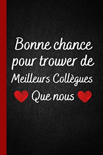 Meilleurs Collègues que nous: Petit Journal Intime de Poche , Cadeau collègue bureau ( Secrétaire , Comptable )