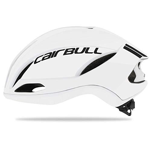 chivalrylist Cairbull Speed Fietshelm, helm voor volwassenen, verstelbare fietshelm met afneembaar vizier en bekleding