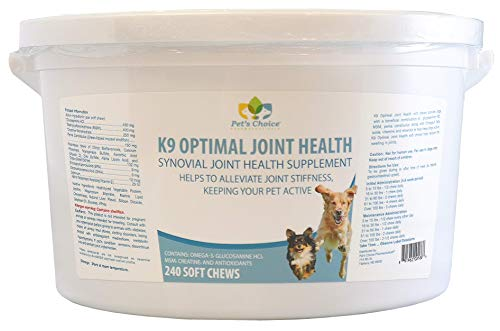 Pet's Choice 240 Count K9 Optimal Joint Health Soft Chew