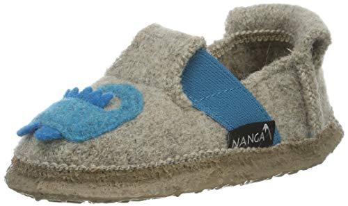 Nanga Jungen Hausschuh Funny Croco Natur 25