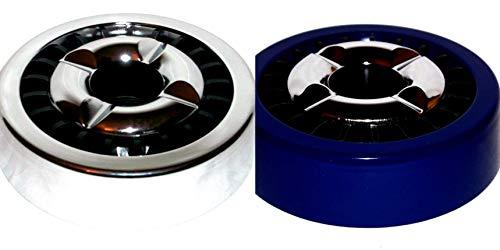 ambestore Cenicero Estable Exteriores de 14 cm, cenicero Grande para pañales, Accesorio para Fumadores, Apto para lavavajillas.