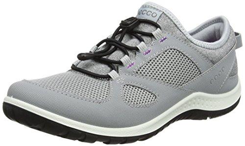 Price comparison product image ECCO Women's Aspina Toggle Trail Runner,  Silver Grey,  39 EU / 8-8.5 M US