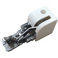 joyliveCY Accesorio prensatelas con Cortador de Recortes de Puntos overlock para máquina de Coser doméstica