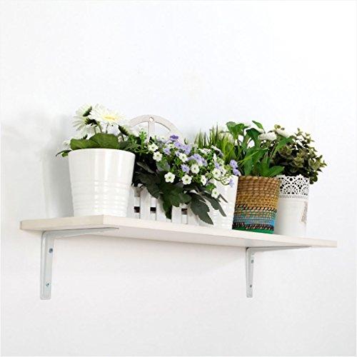 LTJTVFXQ-shelf Wandregal Rack Laminat Spacer Bücherregal Dekorative Platten Weiße Blume Stehen Niedrigen Formaldehyd