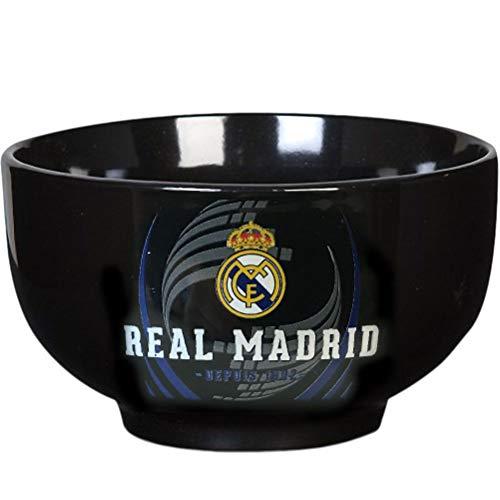 Real Madrid (Ind. Cuenco de recinto Individual Mixta niño, Negro