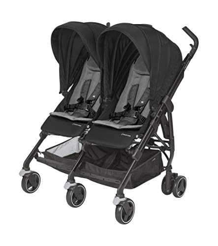 Maxi Cosi Dana for 2 Twin Stroller - Nomad Black