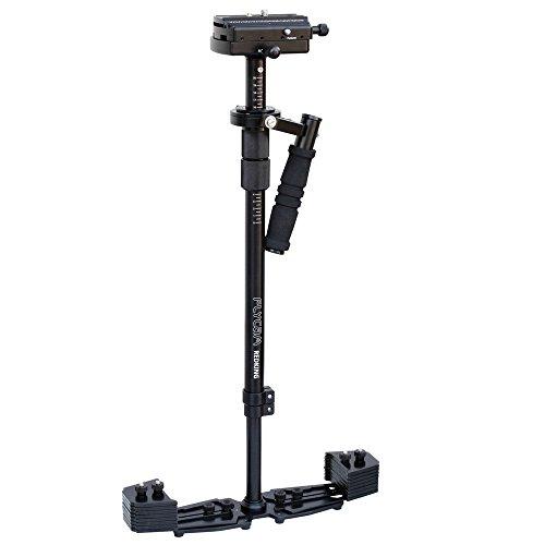 """FLYCAM Redking 32""""/81cm cámara Profesional Estabilizador Steadycam DSLR de Plataforma de Cola de Milano y Escala de Marcado, 7kg/15lb de Carga útil+Bolsa de Almacenamiento (FLCM-RK)"""