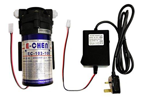 finerfilters e-chen 100GPD Umkehrosmose RO Booster Pumpe