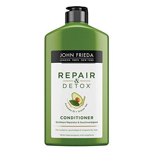 John Frieda Repair & Detox* Conditioner - Mit Avocado-Öl & Grüntee, Für Strapaziertes Haar, 1er Pack (1 x 250 ml)