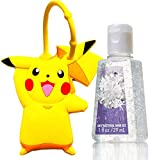 Silicone Pikachu Hand Sanitizer Holder With 1 oz Bottle by GOODYEZZ