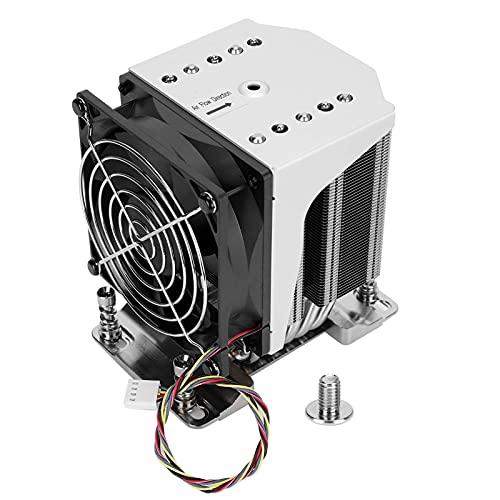 Ventilador del disipador de calor de la CPU, sistema de enfriamiento de la CPU para procesadores de la serie AMD EPYC 7000, accesorios de computadora del enfriador del ventilador de enfriamiento de l