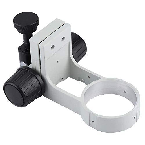 HYY-YY Centrándose Soporte, sostenedor del Soporte de la Cabeza, de Escritorio Soporte de Apoyo, de 76 mm de diámetro, con la Cola, for estéreo Digital USB de la cámara microscopio Lupa de la Lupa