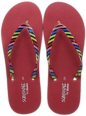 BATA Women's Zebra Fashion Slippers