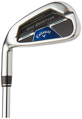 Callaway Big Bertha B21 - Plancha (izquierda, acero, regular, 7 hierro), color...
