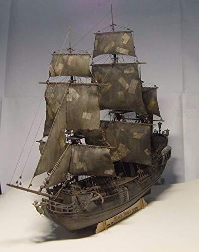 POTOLL Modellbausatz Schiff Wasserfahrzeug-Modellbausätze Model Schiff Schiff Boot Kit 1/96 Scale 3D Laser Cut Diymodel