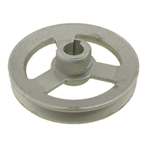 Máquina de coser de motor eléctrico Correa de aluminio Polea de rueda Tuerca única 100MM