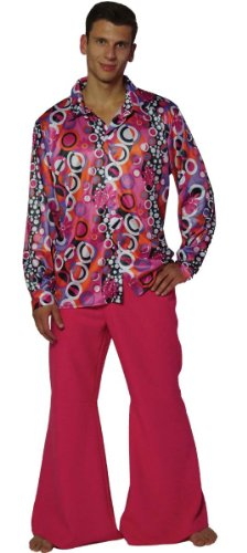 Maylynn 13156 - Costume Hippie - années 60/70 - Chemise/Pantalon évasé - Homme - M