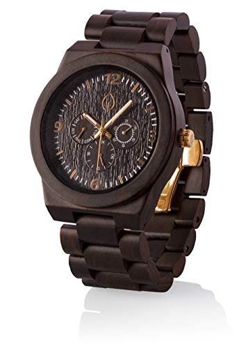 Mens Personalized Wood Watch Custom Wooden Watch engrave engravable for Men (El Gordo)