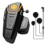 BETOWEY BT-S2 Auriculares Intercomunicador Moto Bluetooth para Motocicletas, Intercomunicador Casco...