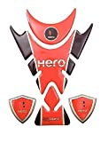 AutoMopix RED Universal Customize Decal Vinyl Bike Tank Pad Sticker