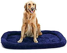 Pengcher Soft Fleece Pet Dog Cat Blanket Cushion Bed Warm Sleeping Mat (Dark Blue,S) for Pet Dog Blanket