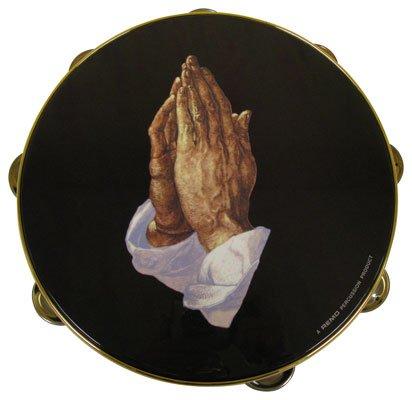 Remo Pandeiro Praise TA-9210-14 - mão em oração, 25,4 cm