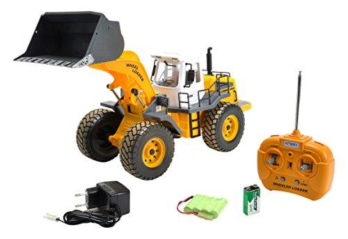 RC Auto kaufen Baufahrzeug Bild: Carson 500907192 - Fahrzeug, 1:14 Radlader 27MHz, 100% RTR*