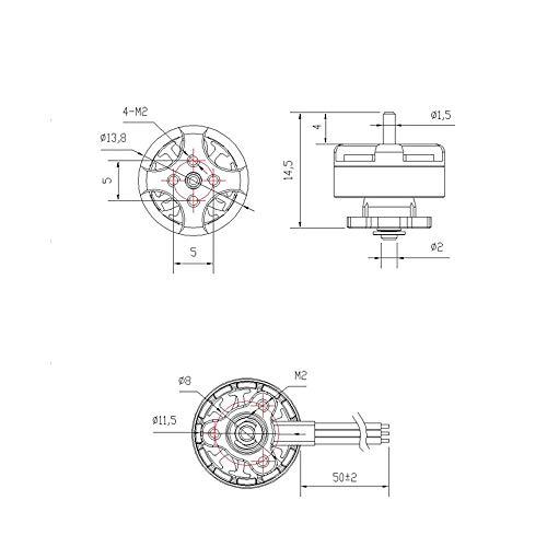 Goolsky EMAX Tinyhawk Freestyle Brushless Motor TH1103 7000KV 1-2S