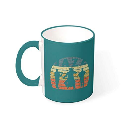 O3XEQ-8 Taza de té con asa de cerámica de alta calidad – amigos, adecuada para residencias residenciales 330 ml